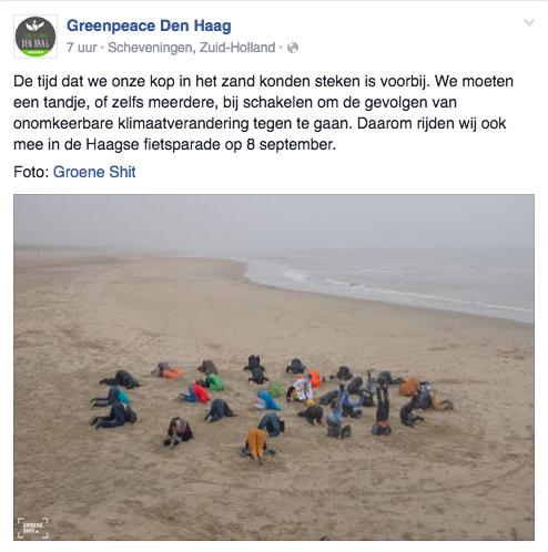 Greenpeace Den Haag