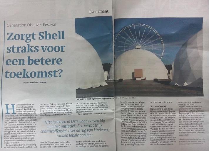 Zorgt Shell straks voor een betere toekomst