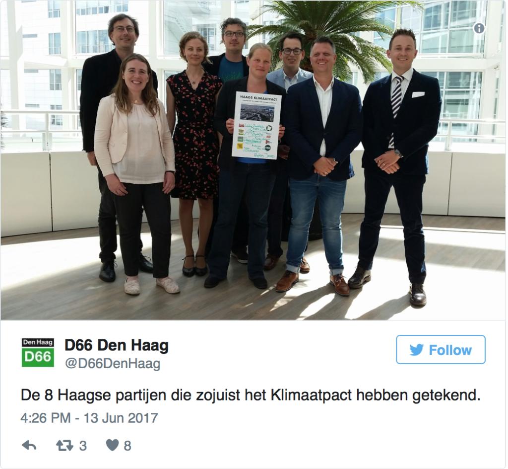 tweet Klimaatpact